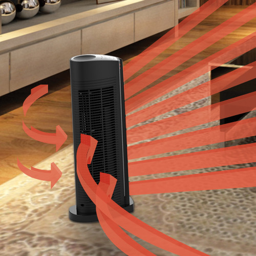 Vornado 1,500 Watt Portable Electric Fan Tower Heater with Automatic Climate Control