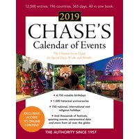 Chase's Calendar of Events 2019: The Ultimate Go-To Guide for Special Days, Weeks and Months (Paperback)