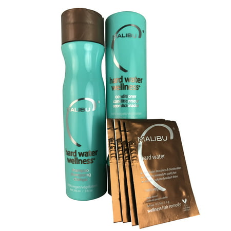 Malibu C Hard Water Wellness Sha & Cond 9 Oz (Malibu Bay)