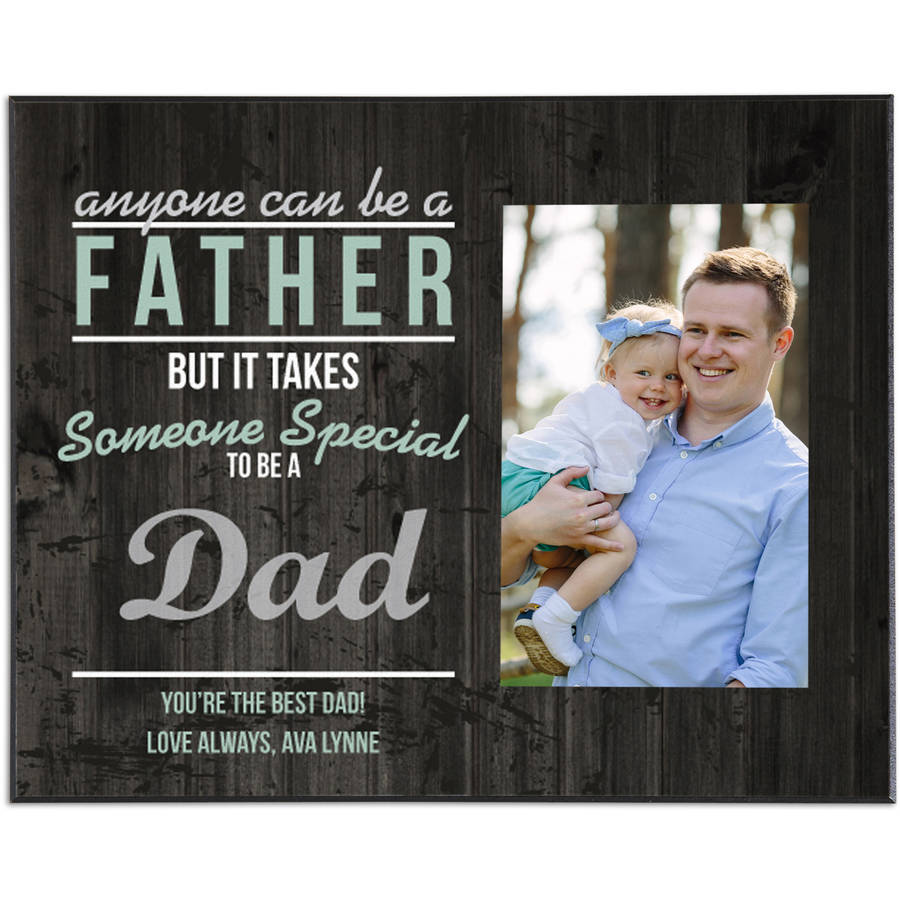 Personalized Someone Special Frame, Available in Dad or Grandpa