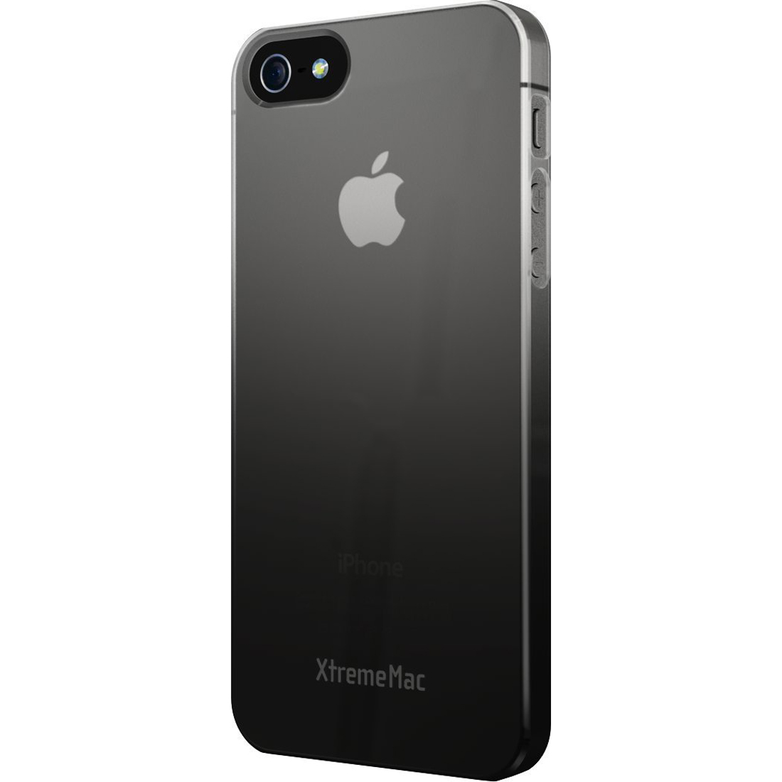 XtremeMac Microshield Case for iPhone 5/5S Fade - Black/Gray