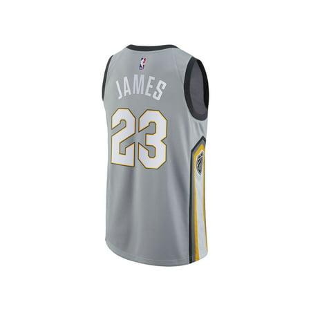 a80647c23 Cleveland Cavaliers Lebron James Nike NBA Men s 2017 City Swingman Jersey -  Walmart.com