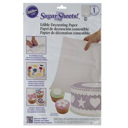 Wilton White Sugar Sheet
