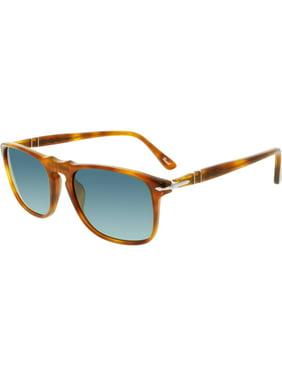 8fd9b210a61 Product Image Persol Men s Polarized PO3059S-96 S3-54 Brown Square  Sunglasses