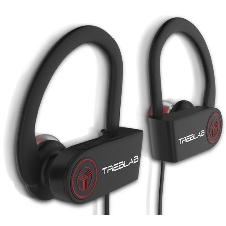 Bluetooth Earbuds Treblab Xr100  Best Wireless Headphones For Running Or Workout  Secure Fit  Sweat Proof  9 Hour Battery  True Hd Sound