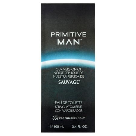 Primitive Man Cologne, Version Of Christian Dior Sauvage*, 3.4 Oz