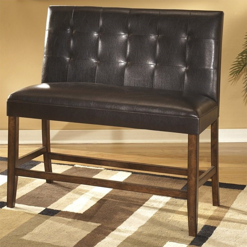 Lacey Double UPH Barstool (2/CN) Medium Brown Lacey Double UPH Barstool (2/CN) Medium Brown