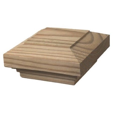 Universal Forest Products 105701 Post Cap, Traditional, 6 x 6 - Quantity