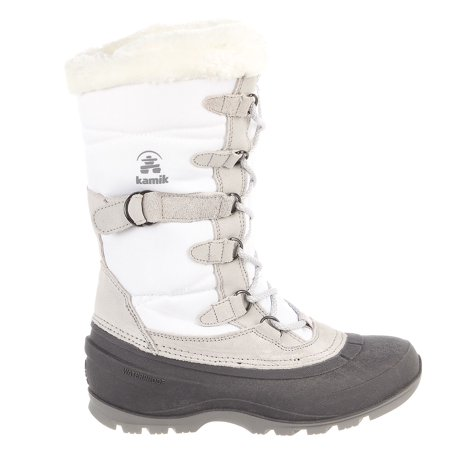 Kamik Snovalley2 Snow Boot - White - Womens - 8 (kamik womens snow boots 8)