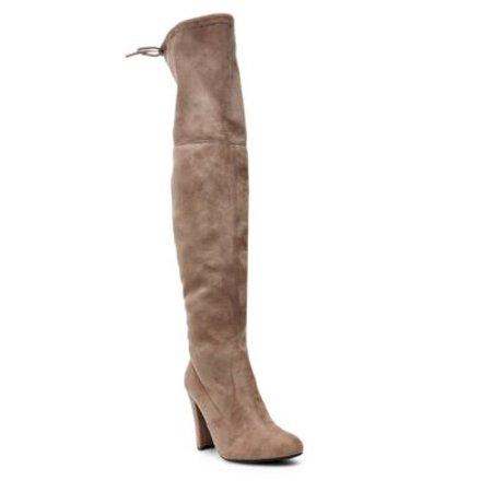 42864fe438c3ea Steve Madden - Womens Steve Madden Gorgeous Over-The-Knee Dress Boots,  Black - Walmart.com