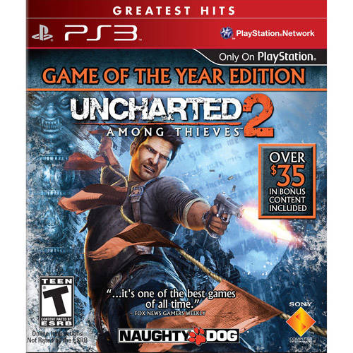 Uncharted 2: Among Thieves - Game of the Year Edition (PS3) - Pre-Owned