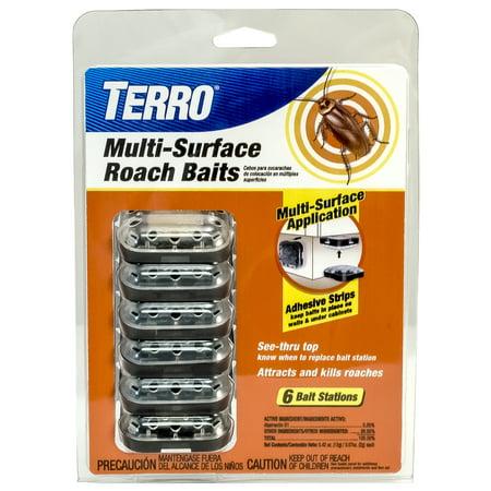 TERRO Multi-Surface Roach Baits