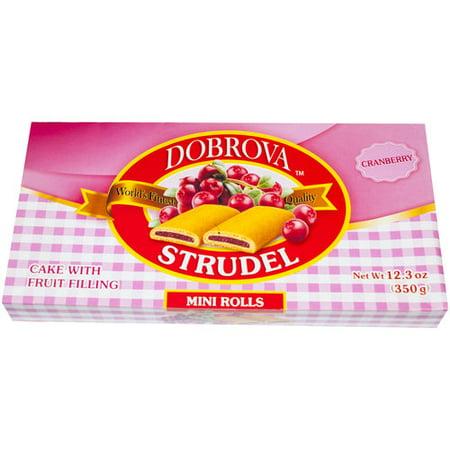 (10 Pack) Dobrova Strudel Cranberry (Best Strudel In Vienna)