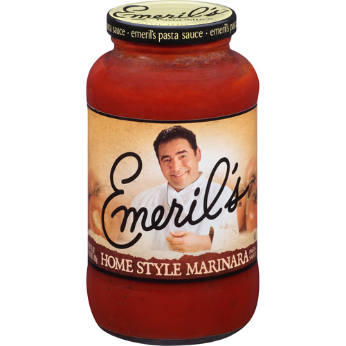 Emeril's All Natural Home Style Marinara Pasta Sauce, 25 oz