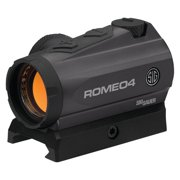 Sig Sauer Romeo4 Compact Red Dot Sight 1x20mm 2 MOA Reticle Low Profile With Tor