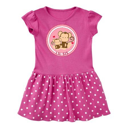 lil sis monkey Toddler Dress (60's And 70's Fancy Dress Costumes)