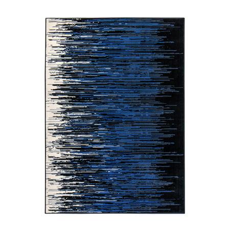 Global Dark Ombre Weave Rug