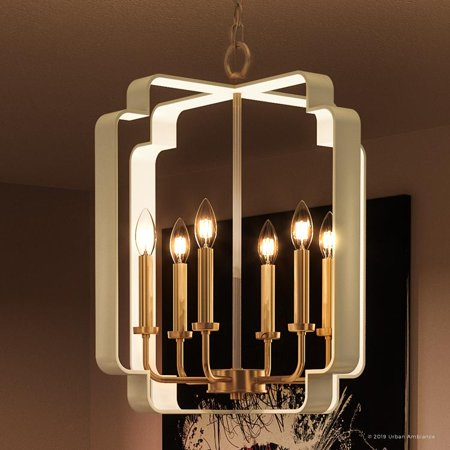 Urban Ambiance Luxury French Country Chandelier, Large Size: 22