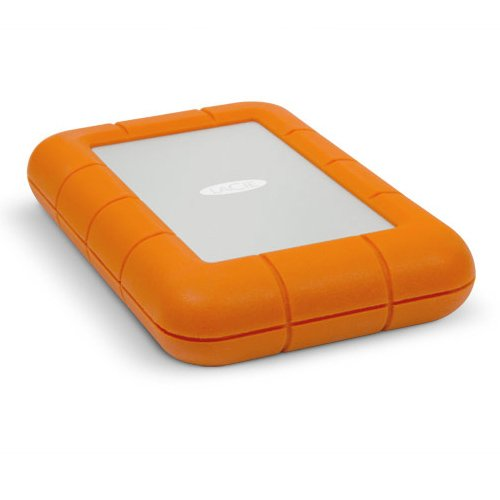 Lacie Rugged 500 Gb External Solid State Drive - Usb 3.0, Thunderbolt -  Sata -