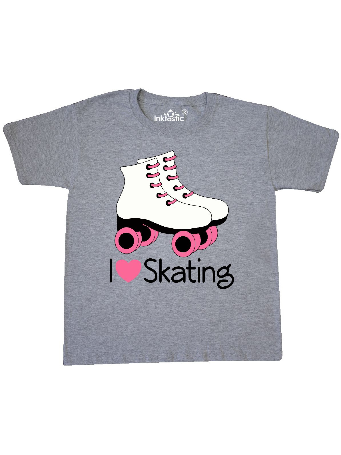 Girls I Heart Skating Youth T-Shirt