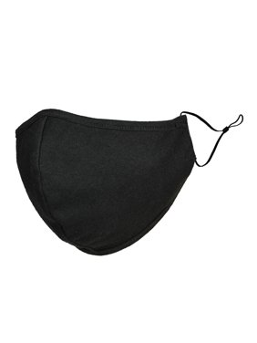 DALIX Cloth Face Mask Reuseable Washable in Black Made in USA