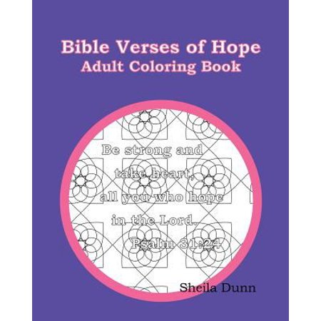 Bible Verses Of Hope Adult Coloring Book
