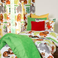 Crayola Jungle Love Full/Queen Comforter Set