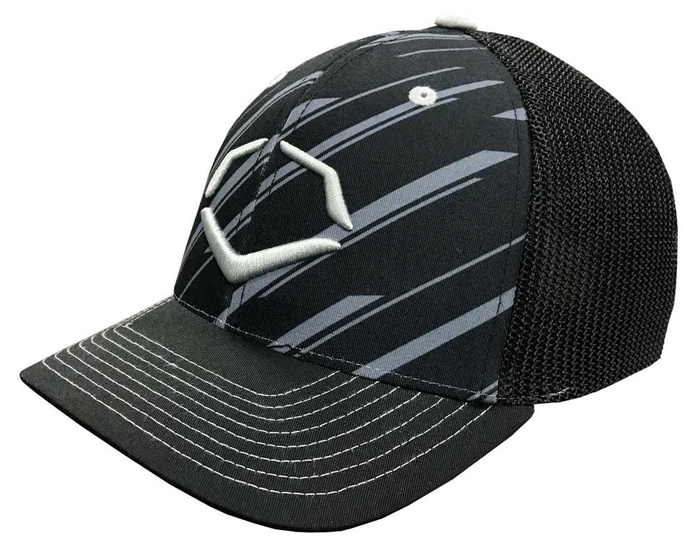 new style 8757c 2b7ae ... where can i buy evoshield speed stripe mesh flex fit baseball cap hat  black silver wtv1036430