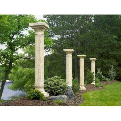 The Outdoor GreatRoom Company Tuscany 7' H x 2' W x 2' D Pergola Pillar (Set of 4)