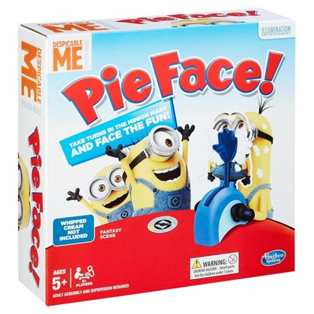 Pie Face Game Despicable Me Minion Made Edition ()