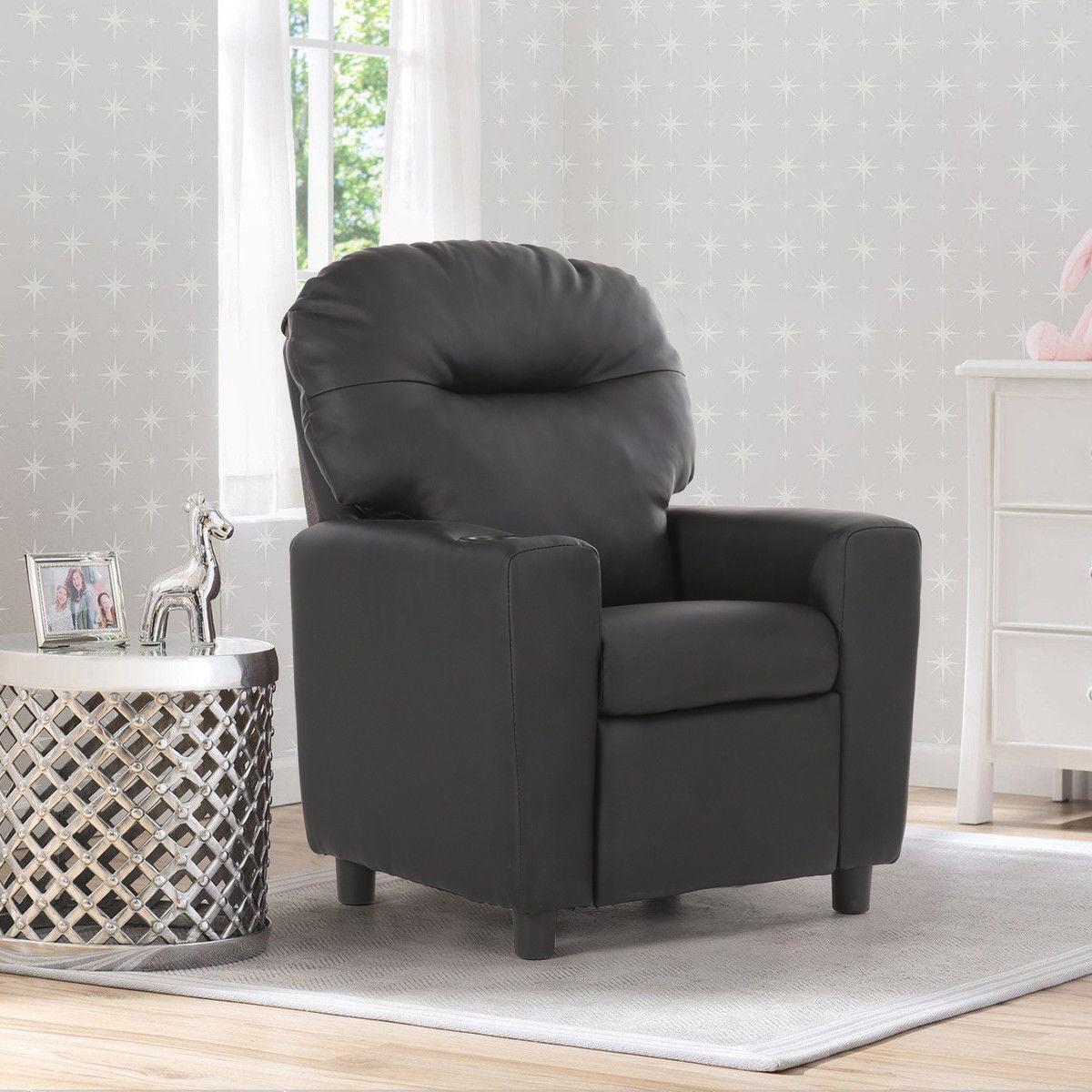 Costway Kids Sofa Recliner Armrest Couch Children Living Room