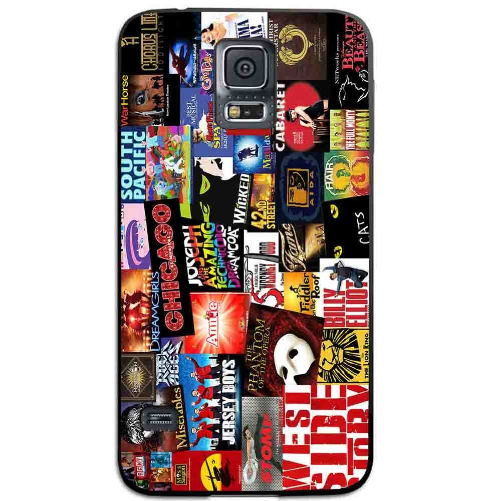 Ganma Broadway icon fan art collage Case For Samsung Galaxy Case (Case For Samsung Galaxy S5 White)