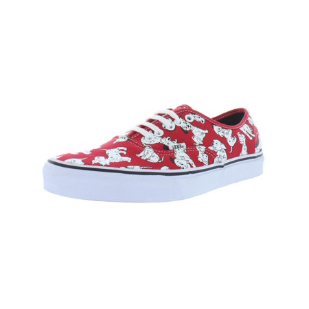 Vans Mens Authentic Low Top Dalmatians Skate Shoes ()