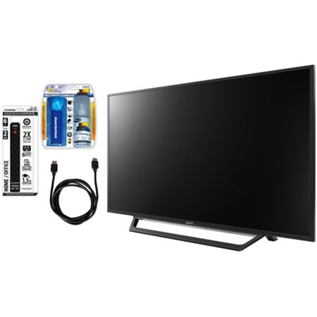 sony kdl 55w650d 55 inch full hd 1080p tv with built in wi fi accessory bundle. Black Bedroom Furniture Sets. Home Design Ideas