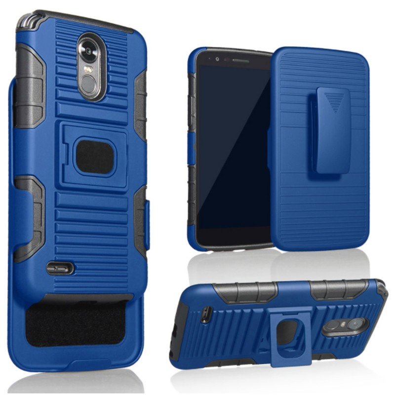 Galaxy Grand Prime Case, Ring & Magnetic Dual Layers [Combo Holster] with [Tempered Glass Screen Protector] Hybird Shockproof (Camo)