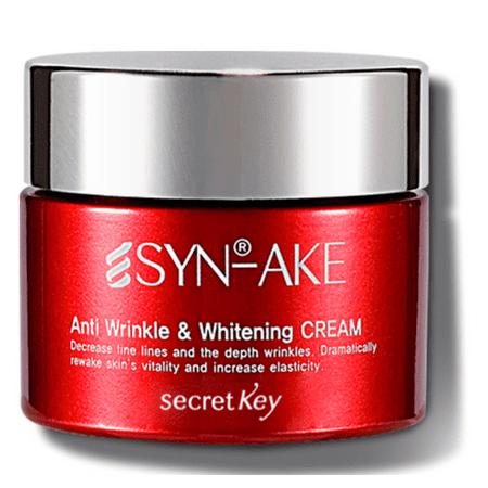 Secretkey Syn-Ake Anti Wrinkle&Whitening Cream