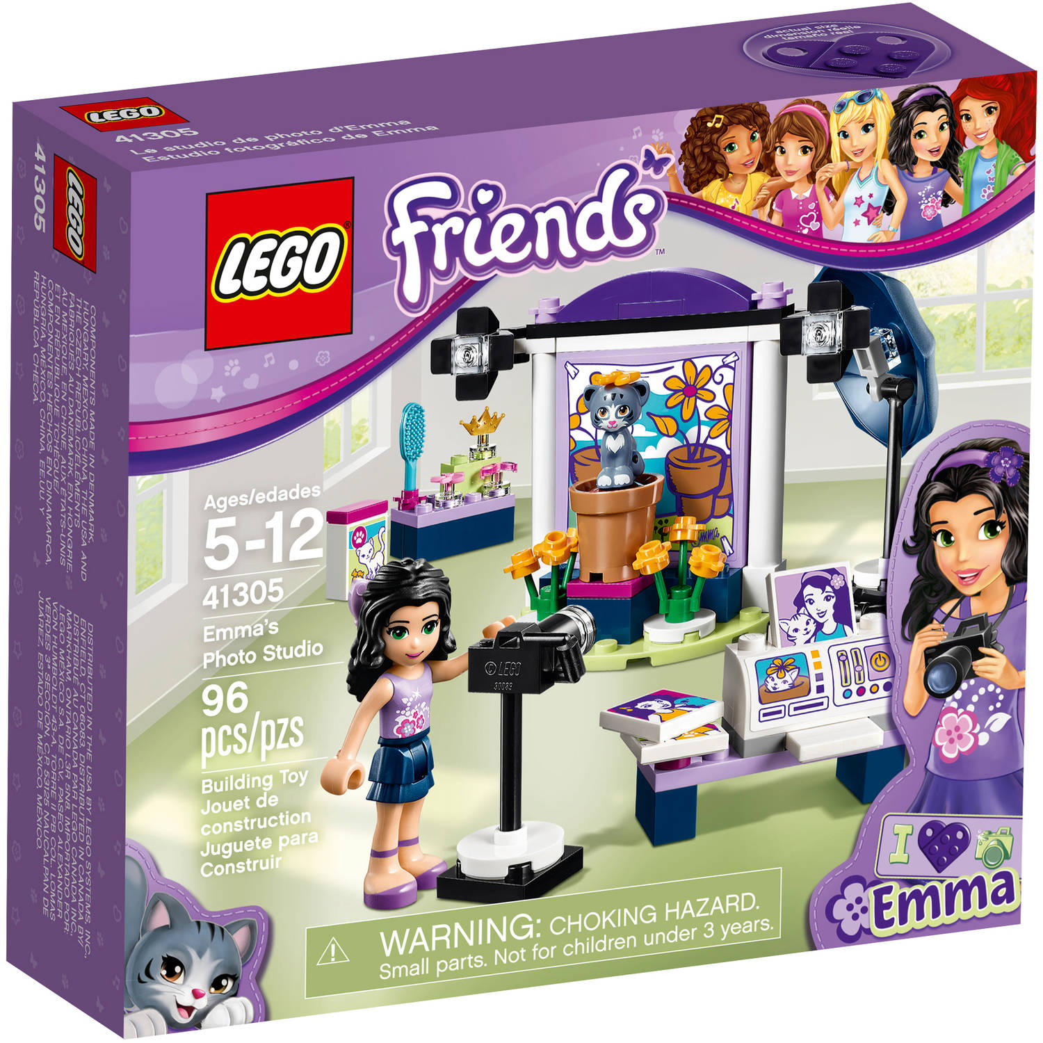 LEGO Friends Emma's Photo Studio 41305