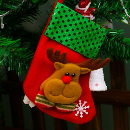 Holiday TimeChristmas Tree Decorations Hang Christmas Gift Christmas Stockings ()