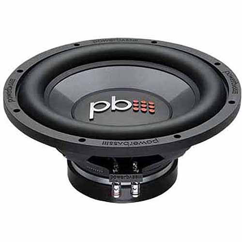 "PowerBass L-1204D 12"" Subwoofer, Black"