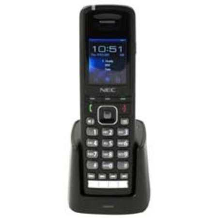 Nec Telephone Systems 730650 Dect Wireless Handset Black
