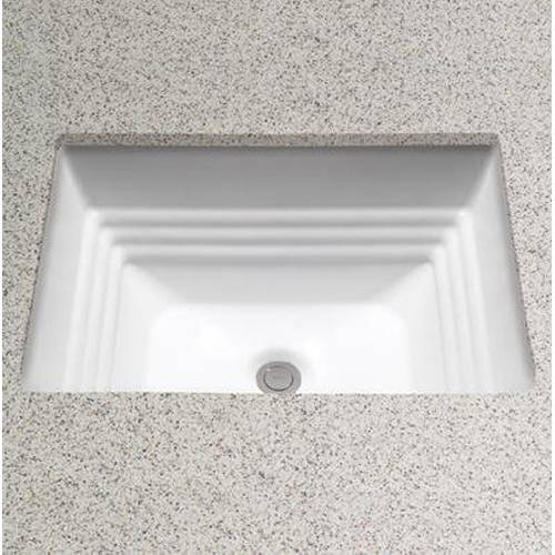 """Toto Promenade 18-1/2"""" Undermount Bathroom Sink with Overflow, Available in Various Colors"""