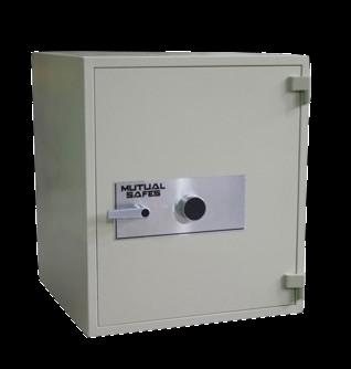 Mutual RS-2 1.5 hour Fireproof and Burglary Safe Home Safe