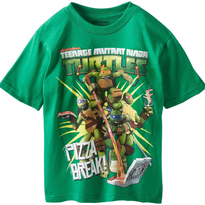 Teenage Mutant Ninja Turtles - Pizza Breaks Youth T-Shirt