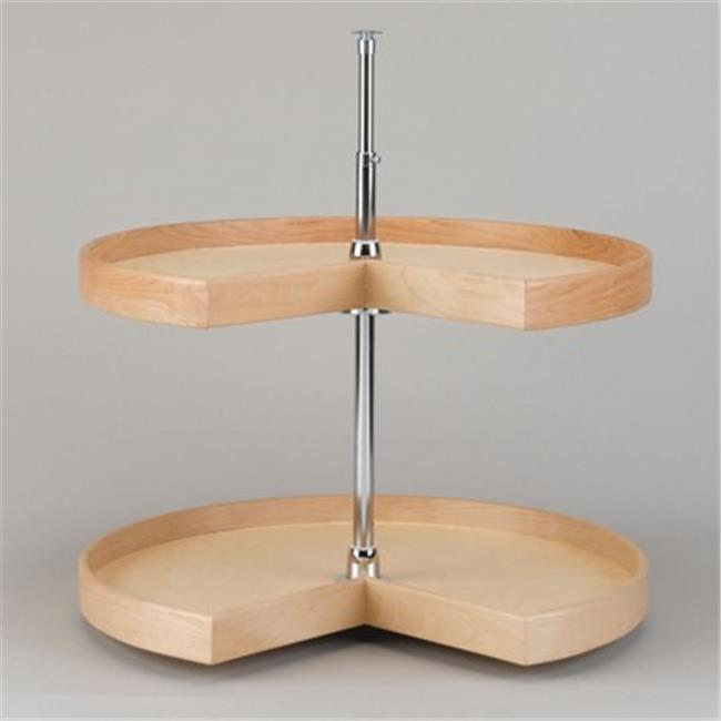 Rev A Shelf Rsld.4Nw.472.18.1 18 In. Solid Maple Band Kidney Natural Wood