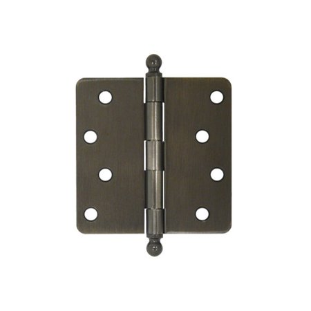 Deltana 4'' H x 4'' W Butt/Ball Bearing Single Door Hinge ()