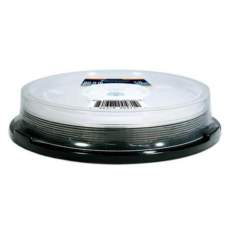 Optical Quantum OQBDRDL06WIPH-10 10 Pack 6X 50GB BD-R DL Blu-Ray Blank Disc White Inkjet Hub Printable