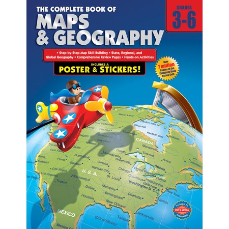 The Complete Book of Maps and Geography, Grades 3 - 6 ()