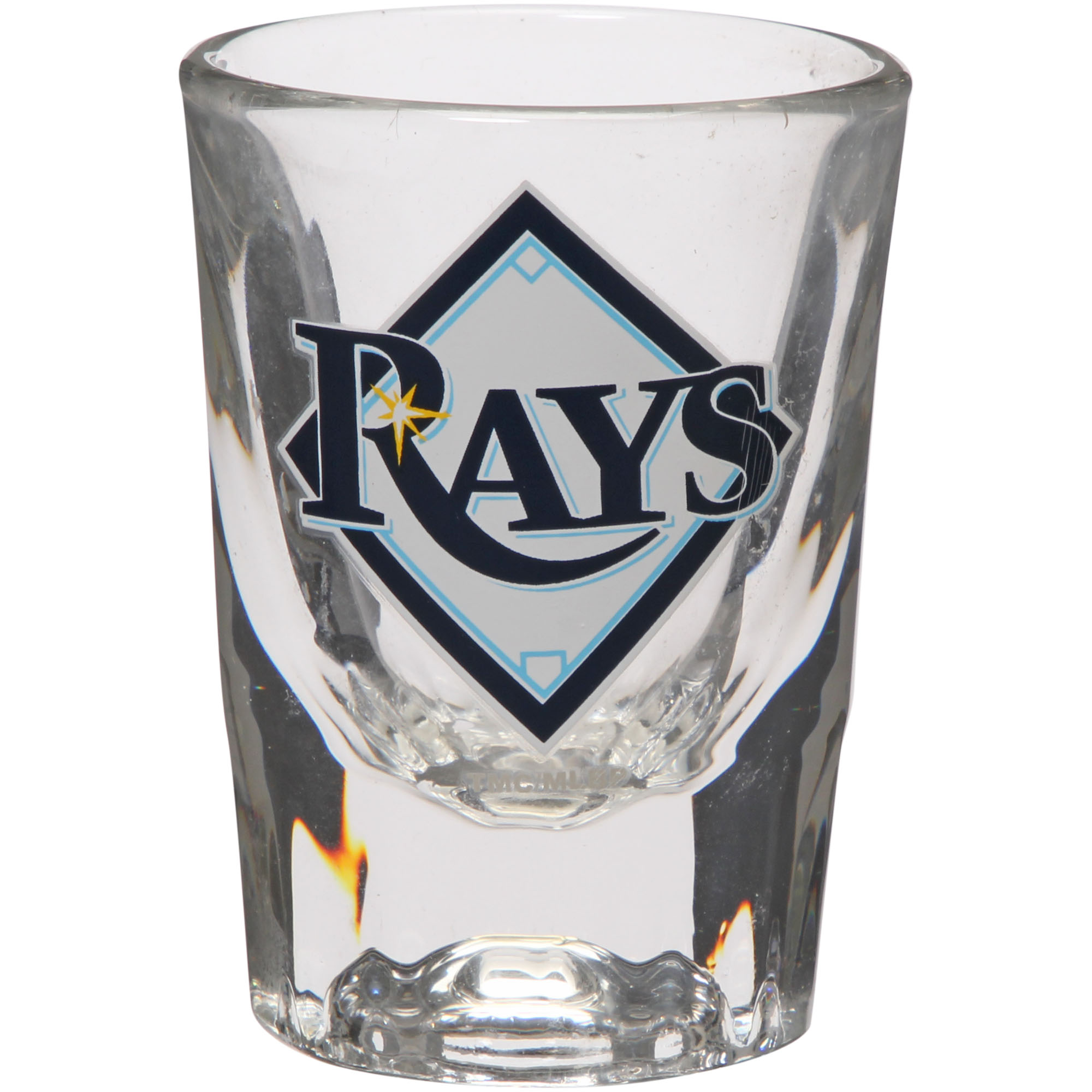 Tampa Bay Rays 2oz. Fluted Collector Shot Glass - No Size