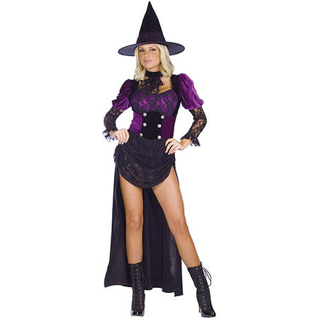 Witch Burlesque Adult Halloween Costume](Burlesque Costume Halloween)