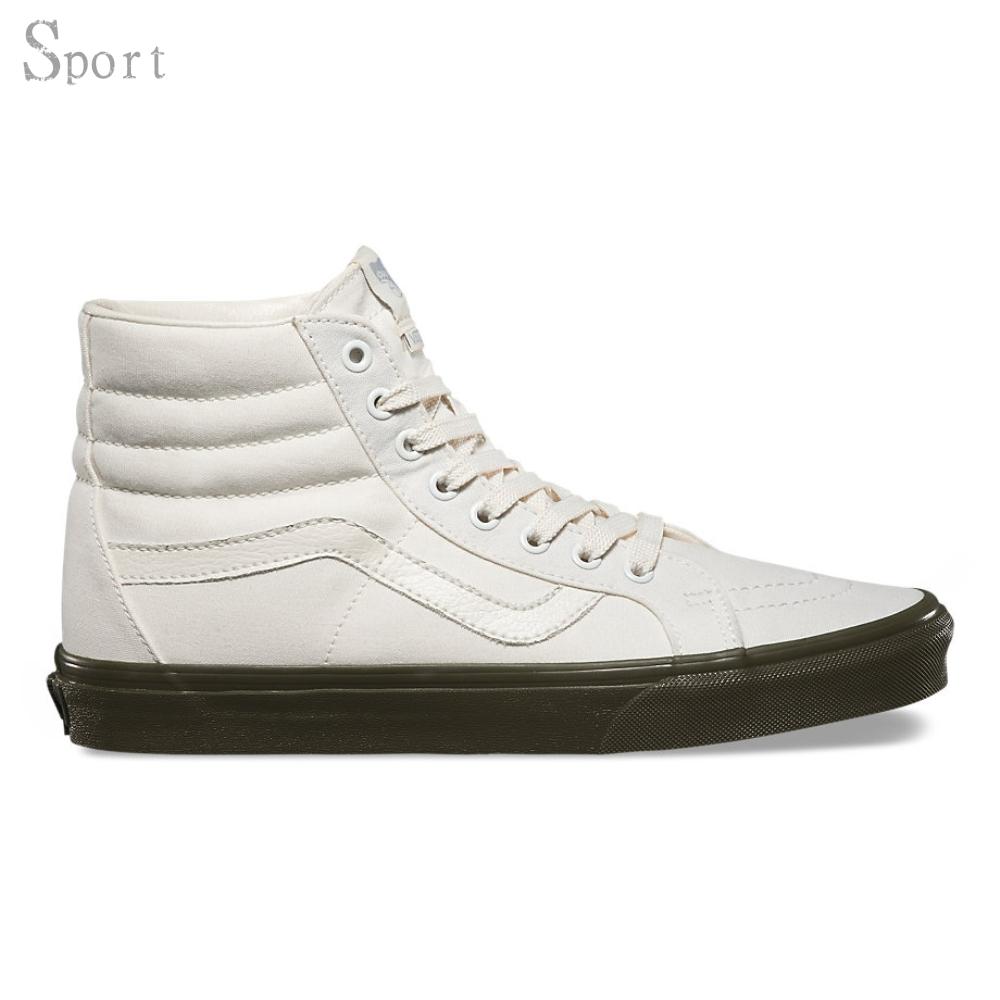bf33b19885 Vans - Vans Sk8-Hi Reissue Vansguard Classic White   Ivy Green Ankle-High  Canvas Skateboarding Shoe - 10M 8.5M - Walmart.com